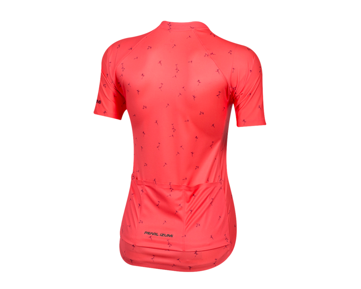 Image 2 for Pearl Izumi Women's Elite Pursuit Short Sleeve Jersey (Atomic Red) (M)