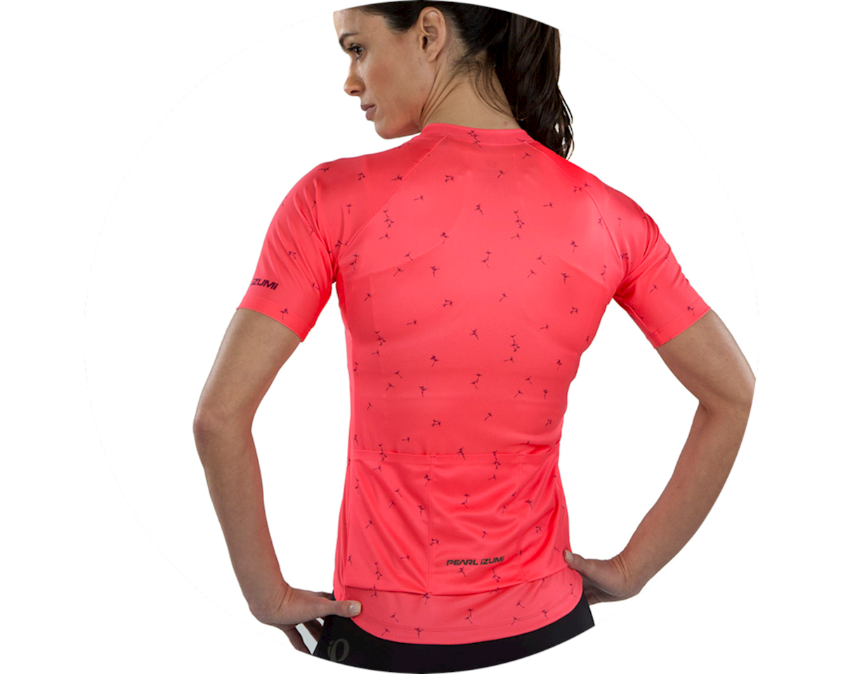 Image 3 for Pearl Izumi Women's Elite Pursuit Short Sleeve Jersey (Atomic Red) (M)