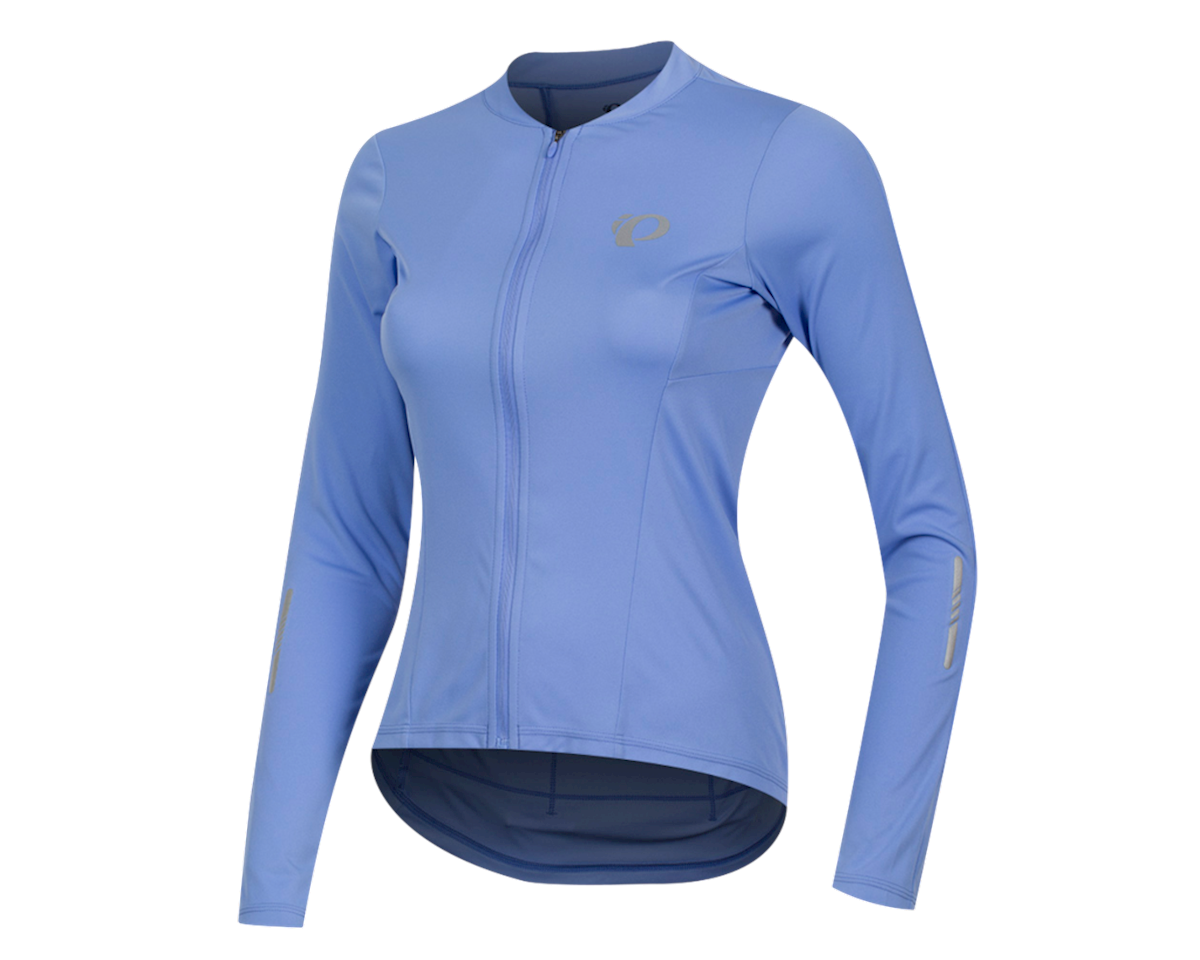 Image 1 for Pearl Izumi Women's Select Pursuit Long Sleeve Jersey (Lavender/Eventide) (L)