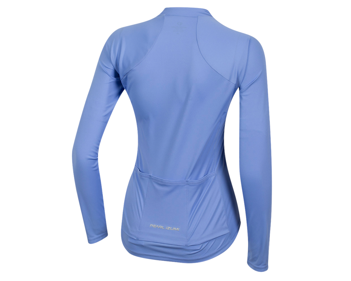 Image 2 for Pearl Izumi Women's Select Pursuit Long Sleeve Jersey (Lavender/Eventide) (L)