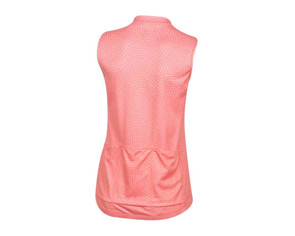 Image 2 for Pearl Izumi Women's Select Escape Sleeveless Graphic Jersey (Sugar Coral Kimono) (M)