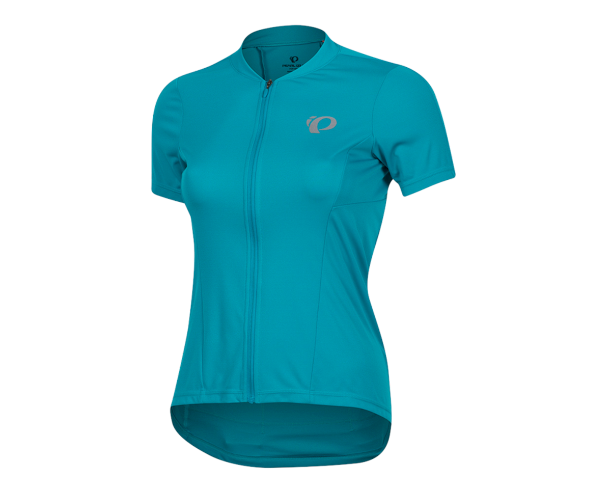 Pearl Izumi Women's Select Pursuit Short Sleeve Jersey (Breeze/Teal) (XL)