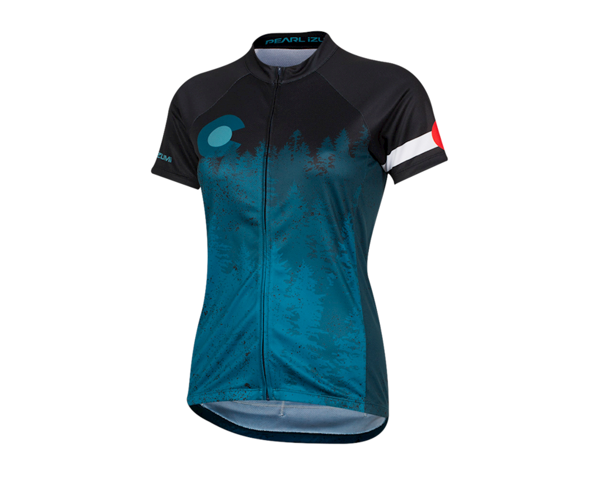 Pearl Izumi Women's Select Pursuit Short Sleeve Jersey (Homestate) (XL)