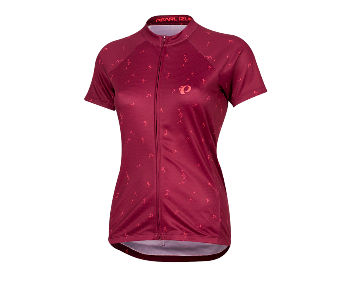 Pearl Izumi Women's Select Pursuit Short Sleeve Jersey (Beet Red Wish) (L)