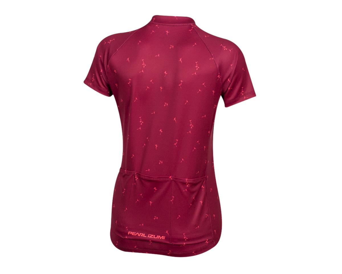 Pearl Izumi Women's Select Pursuit Short Sleeve Jersey (Beet Red Wish) (2XL)