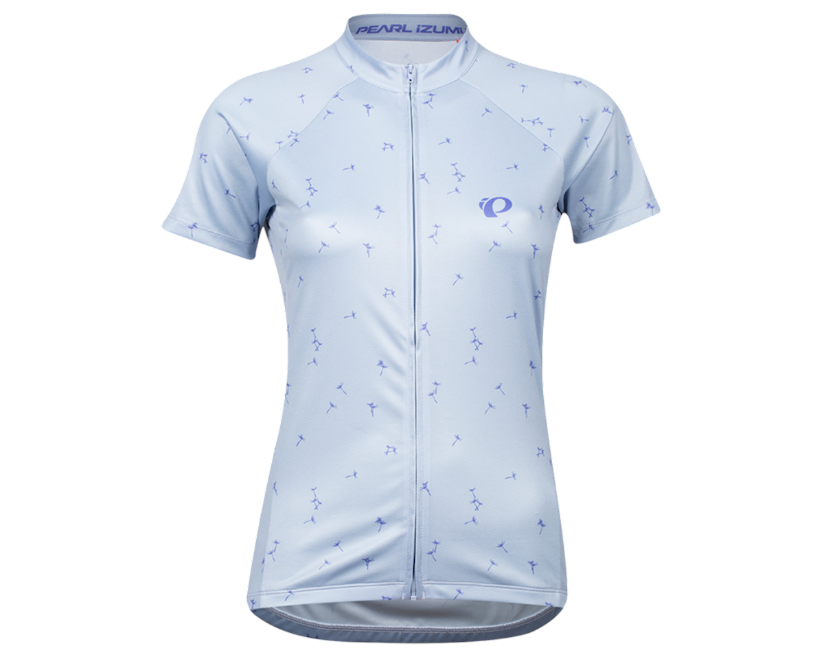 Pearl Izumi Women's Select Pursuit Short Sleeve Jersey (Eventide/Lavender Wish) (L)