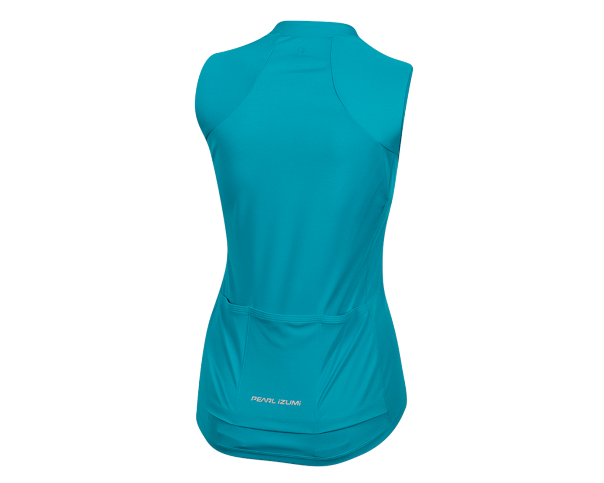 Pearl Izumi Women's Select Pursuit Sleeveless Jersey (Breeze/Teal) (L)