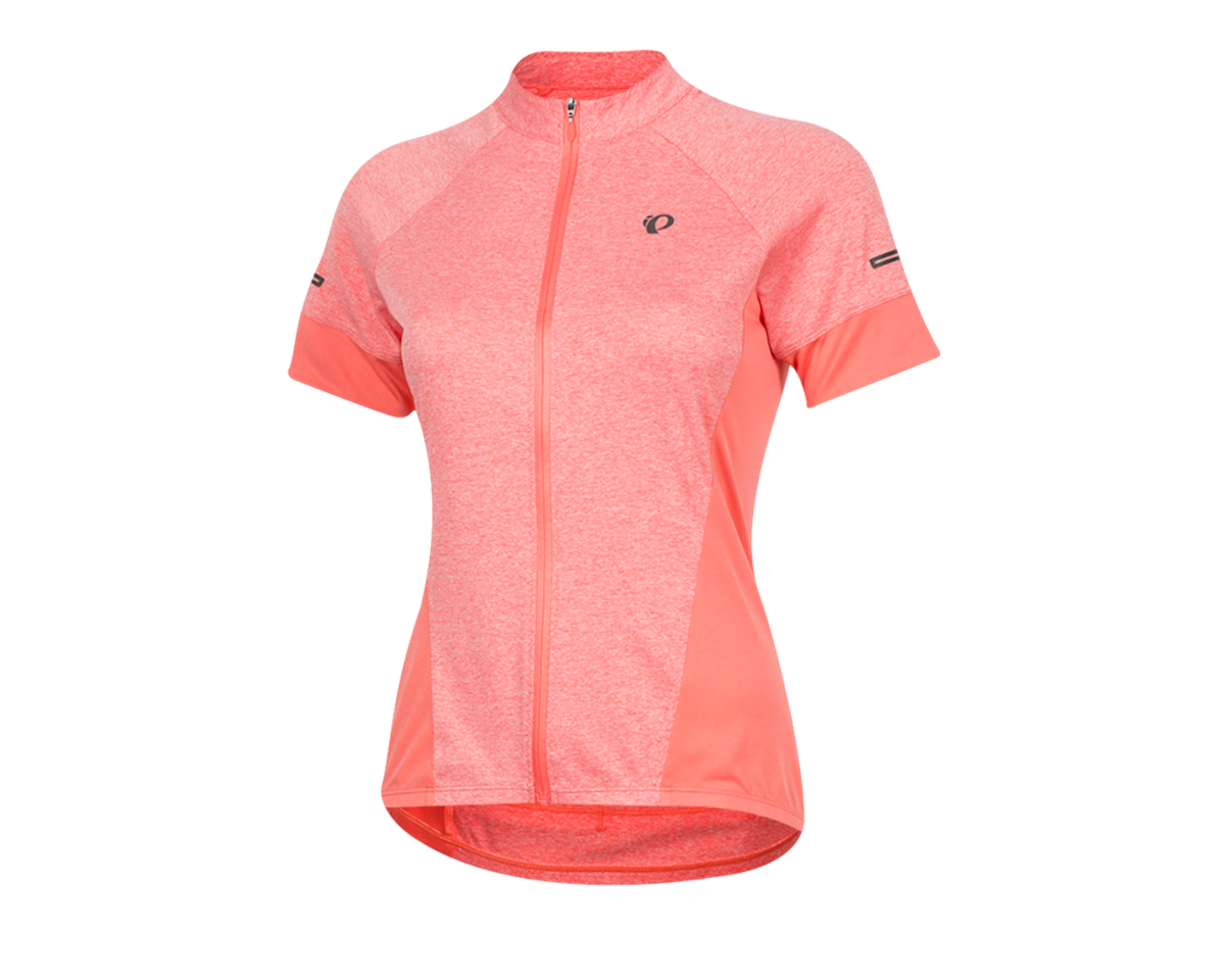 Pearl Izumi Women's Select Escape Short Sleeve Jersey (Sugar Coral/Peach) (M)