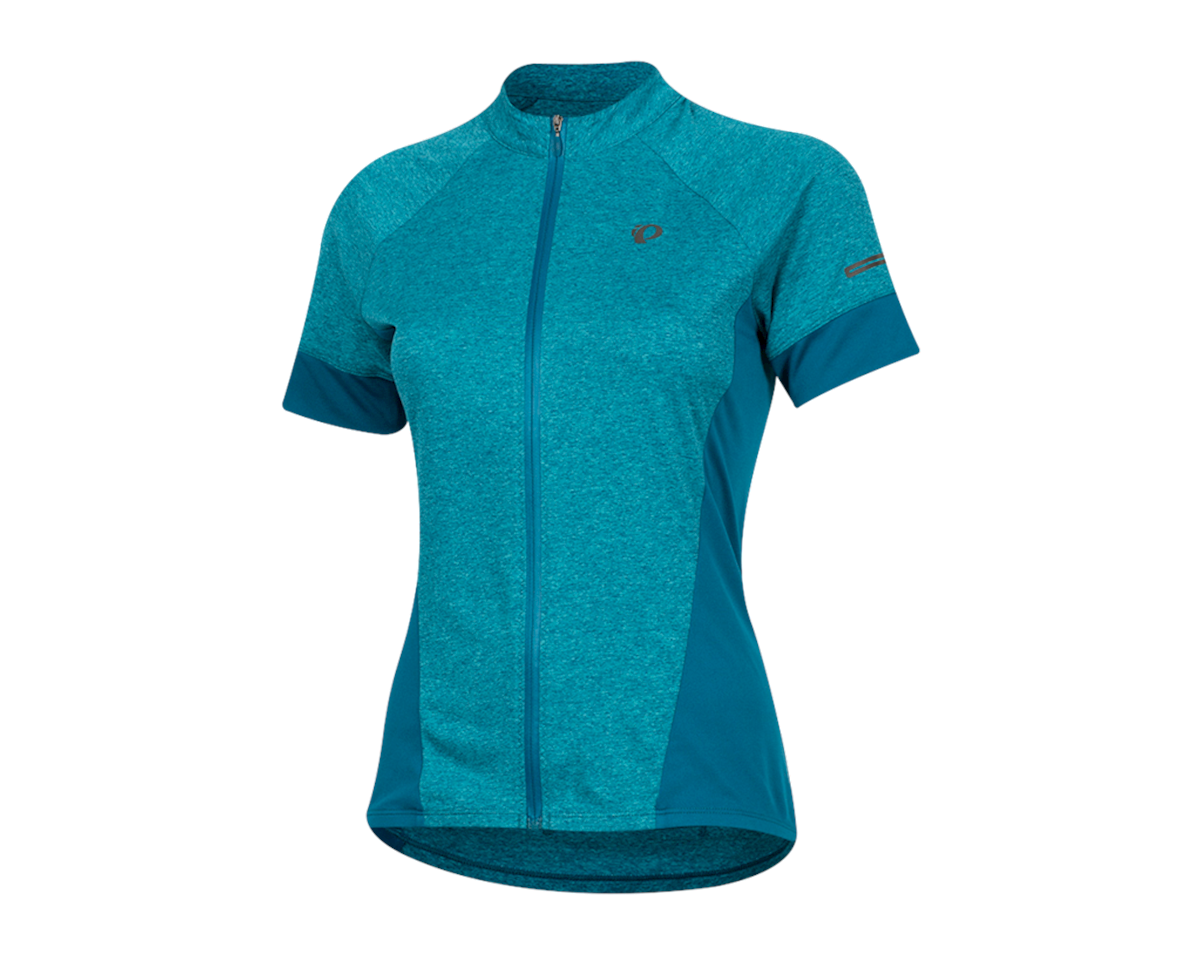 Pearl Izumi Women's Select Escape Short Sleeve Jersey (Teal/Breeze) (L)