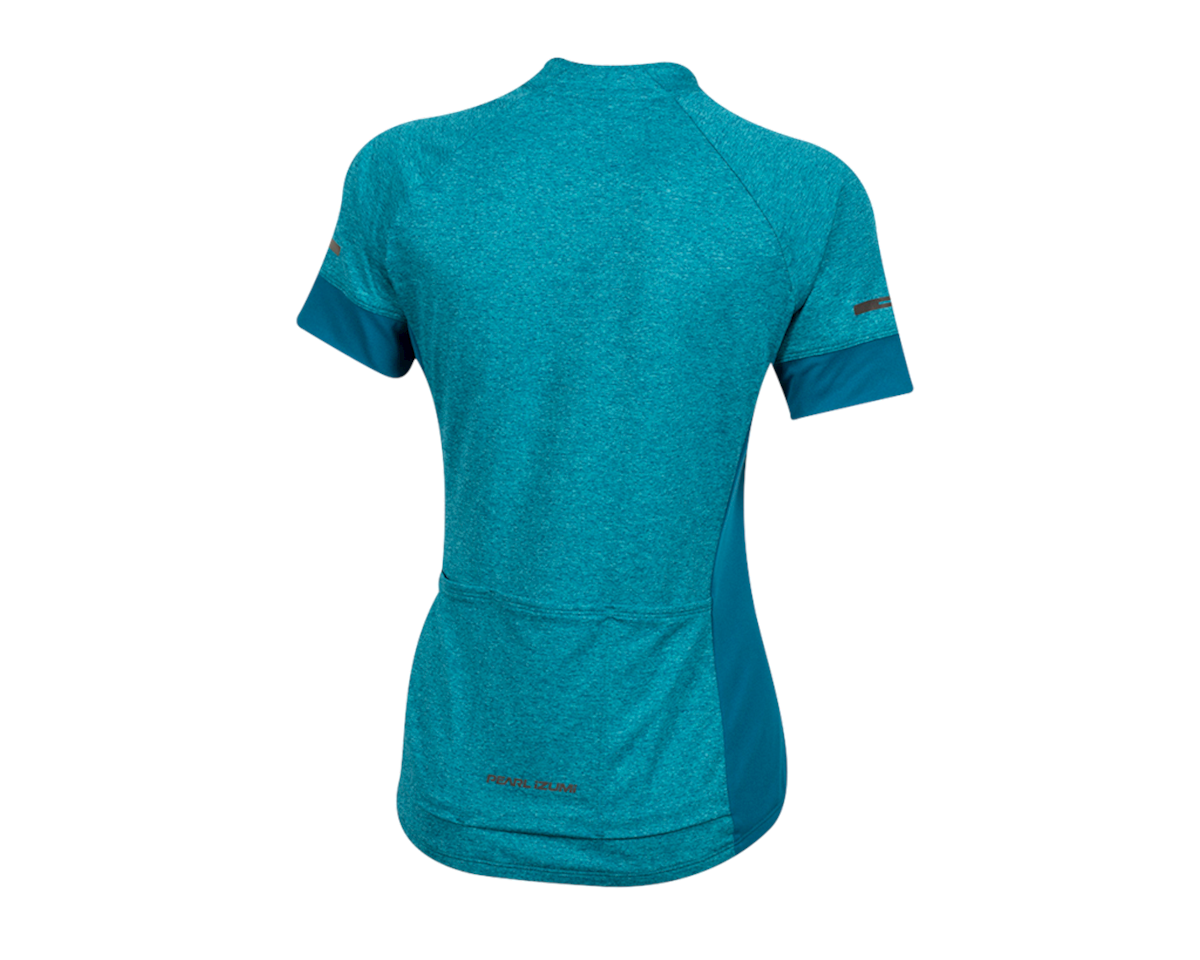 Pearl Izumi Women's Select Escape Short Sleeve Jersey (Teal/Breeze) (M)