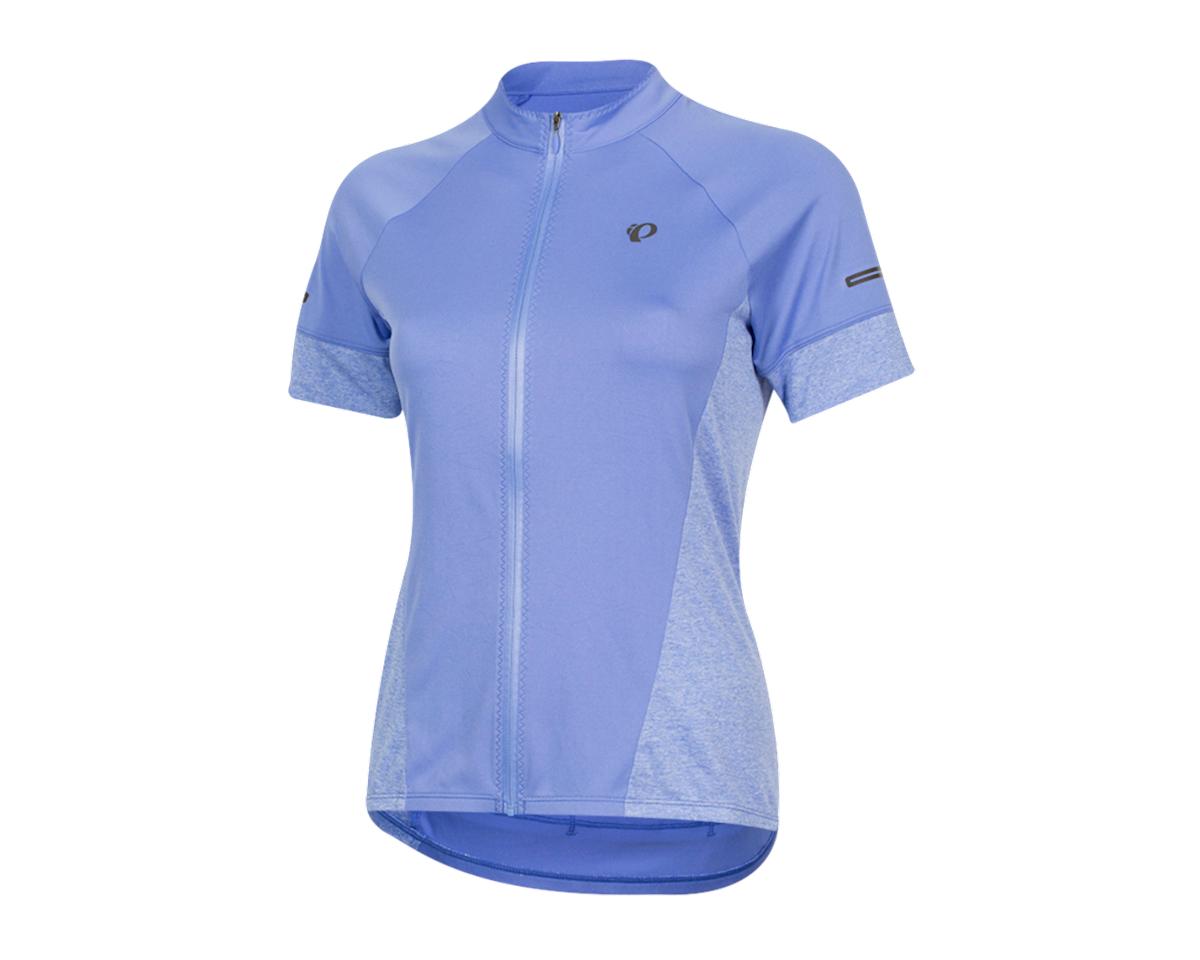 Pearl Izumi Women's Select Escape Short Sleeve Jersey (Lavender/Eventide) (XL)