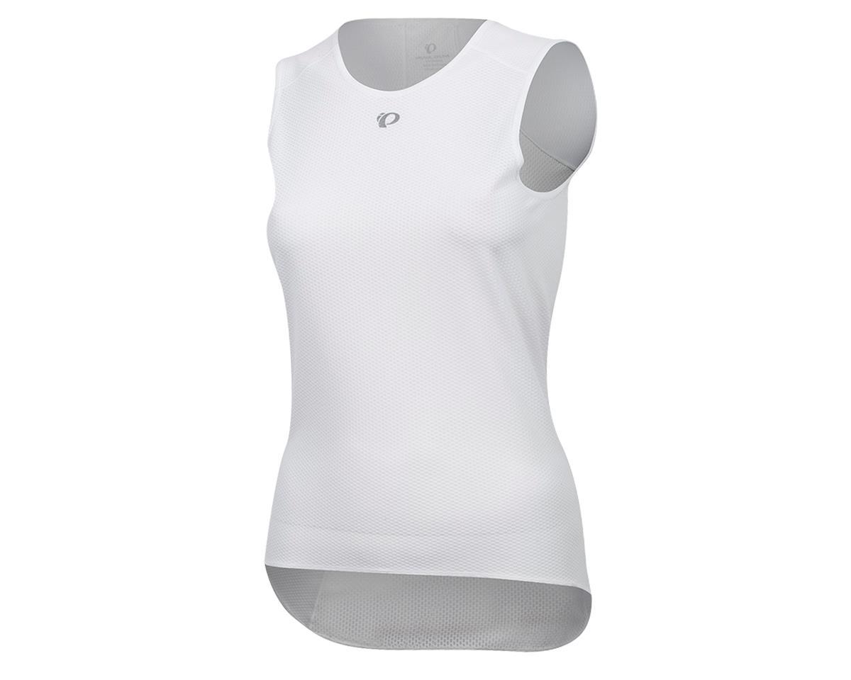 Pearl Izumi Women's Transfer Cycling Sleeveless Base Layer (White) (L)