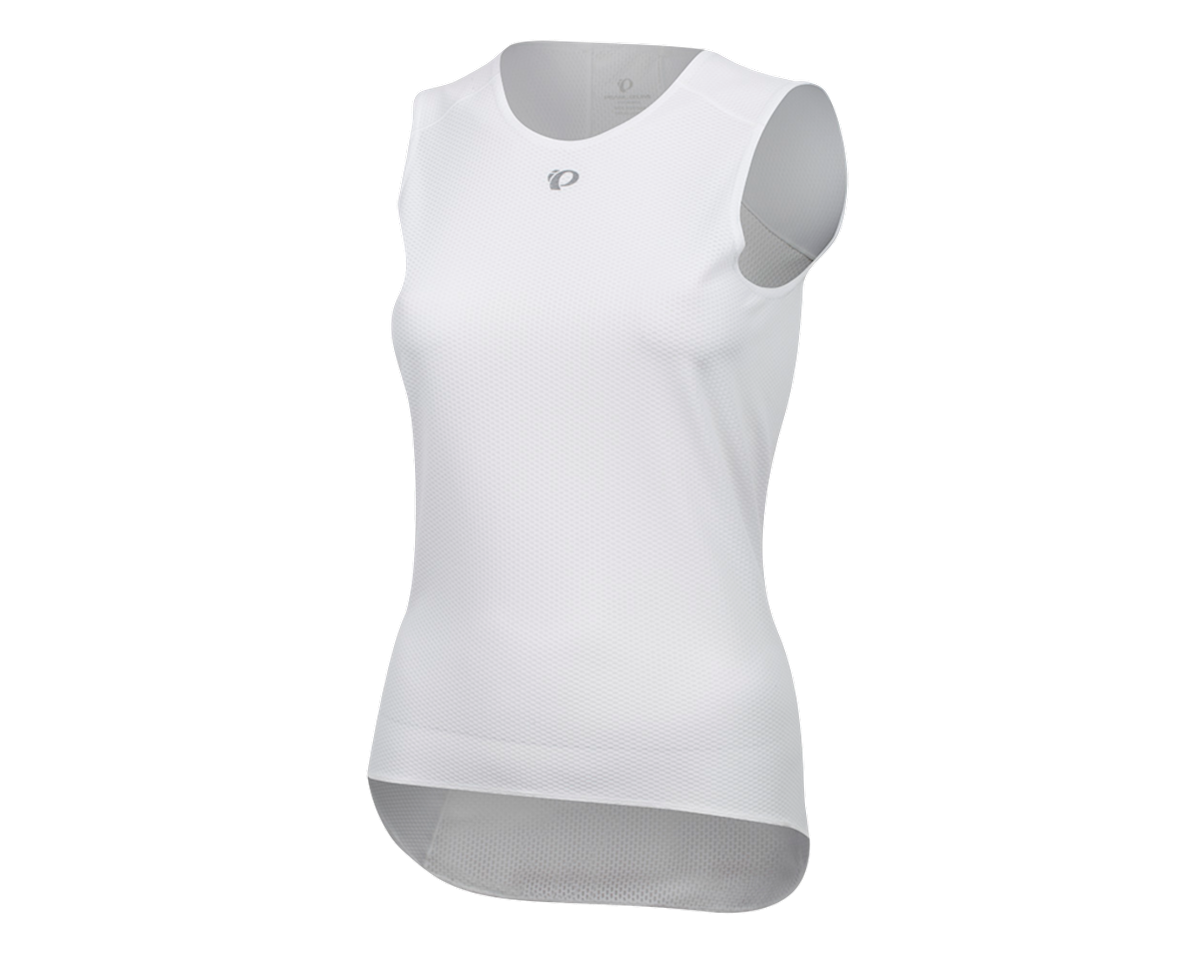 Pearl Izumi Women's Transfer Cycling Sleeveless Base Layer (White) (XS)
