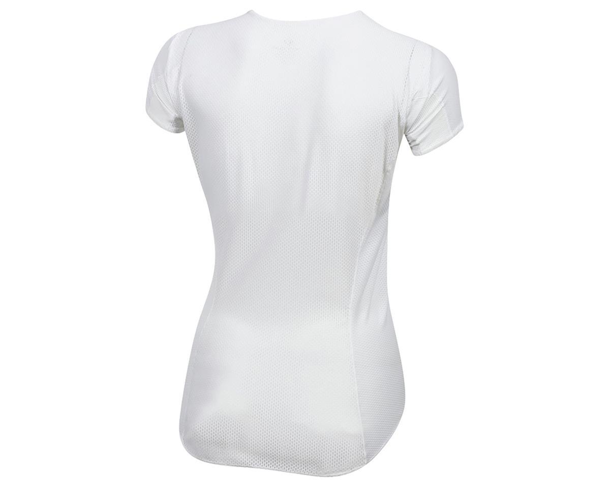Pearl Izumi Women's Transfer Cycling Short Sleeve Base Layer (White) (XL)