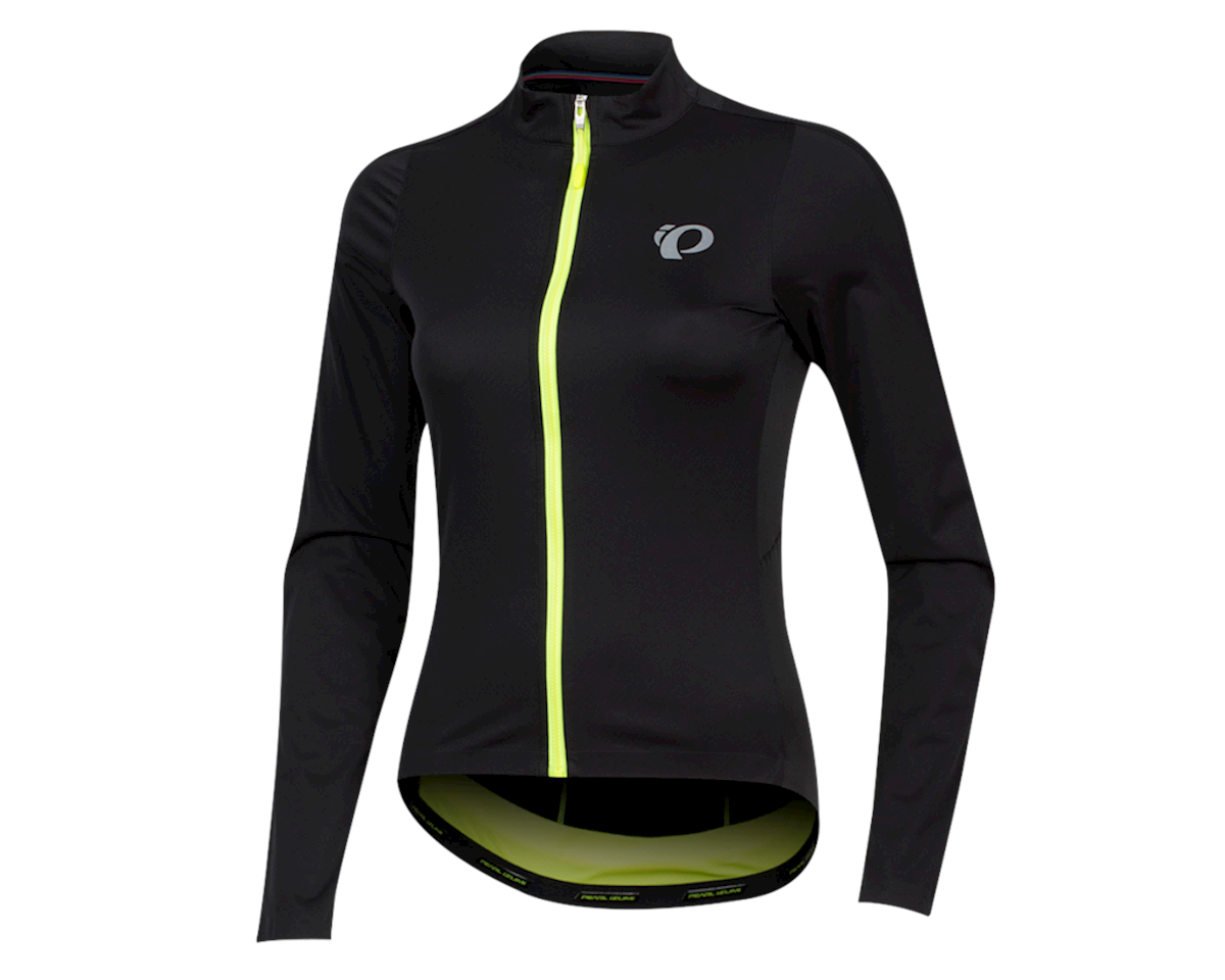 Pearl Izumi Women's PRO Pursuit Long Sleeve Wind Jersey (Black)