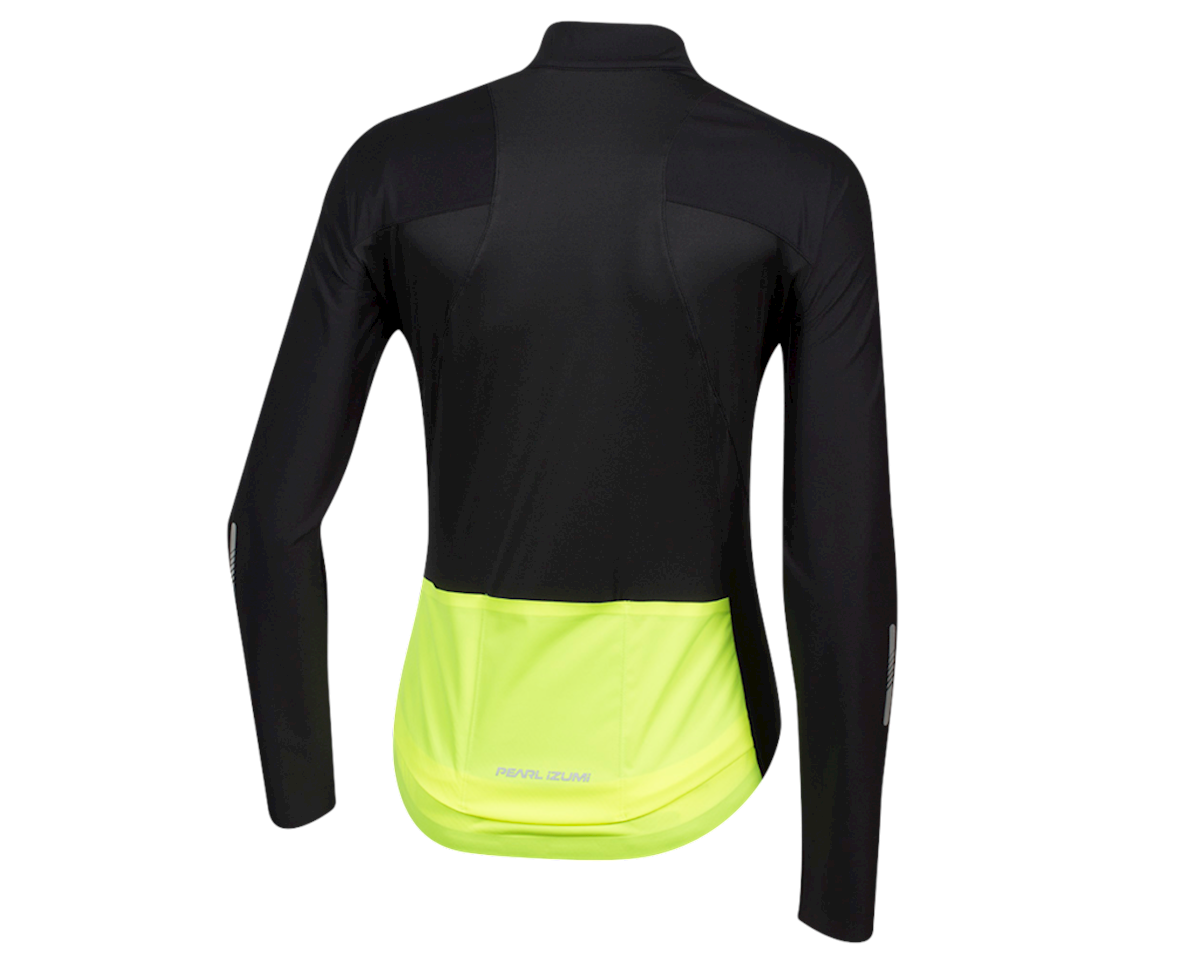 Pearl Izumi Women's PRO Pursuit Long Sleeve Wind Jersey (Black) (L)