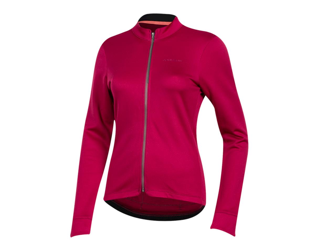 Pearl Izumi Women's PRO Merino Thermal Jersey (Beet Red) (L)