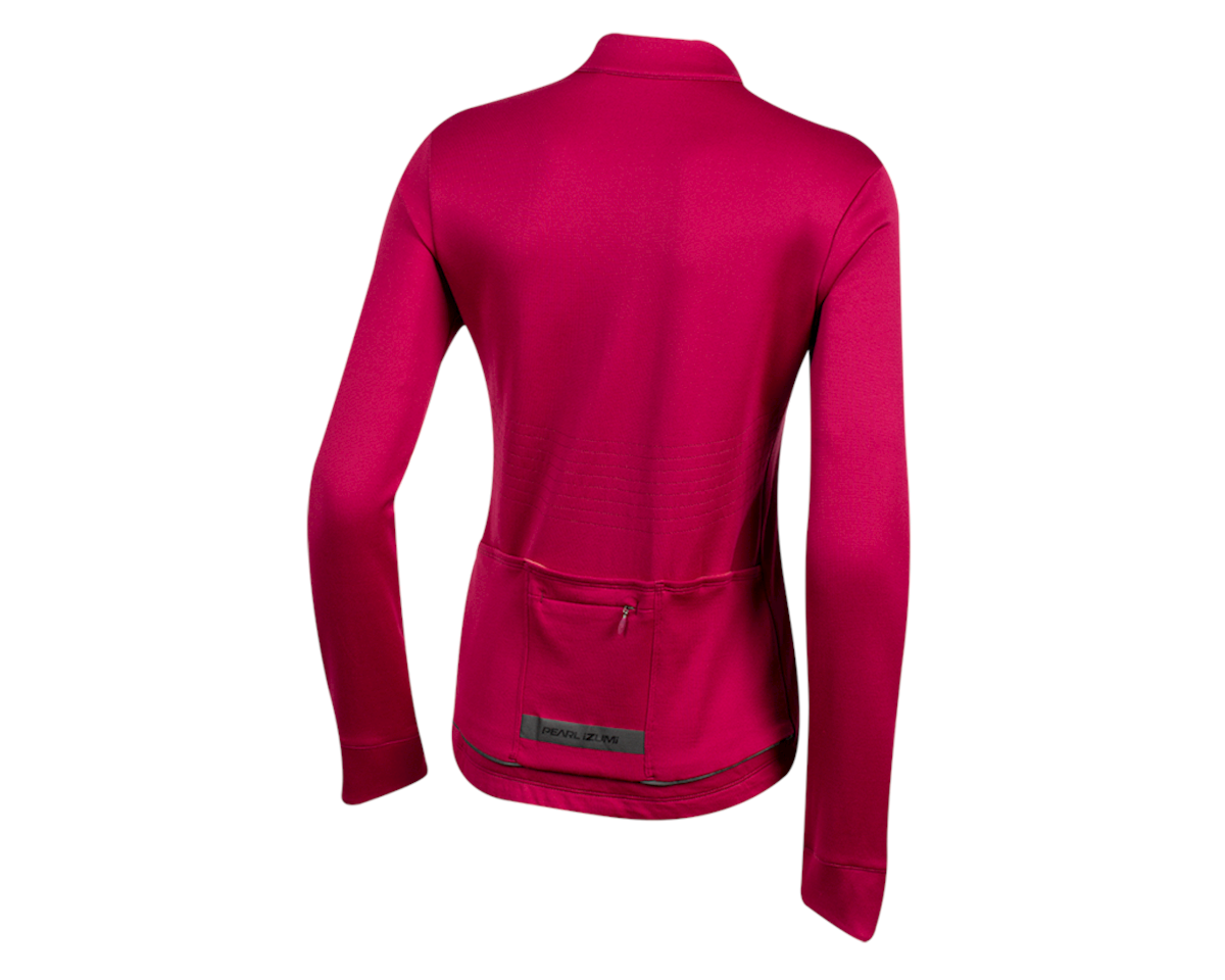 Image 2 for Pearl Izumi Women's PRO Merino Thermal Jersey (Beet Red) (S)