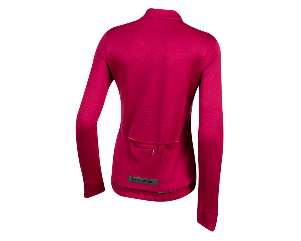 Pearl Izumi Women's PRO Merino Thermal Jersey (Beet Red) (S)
