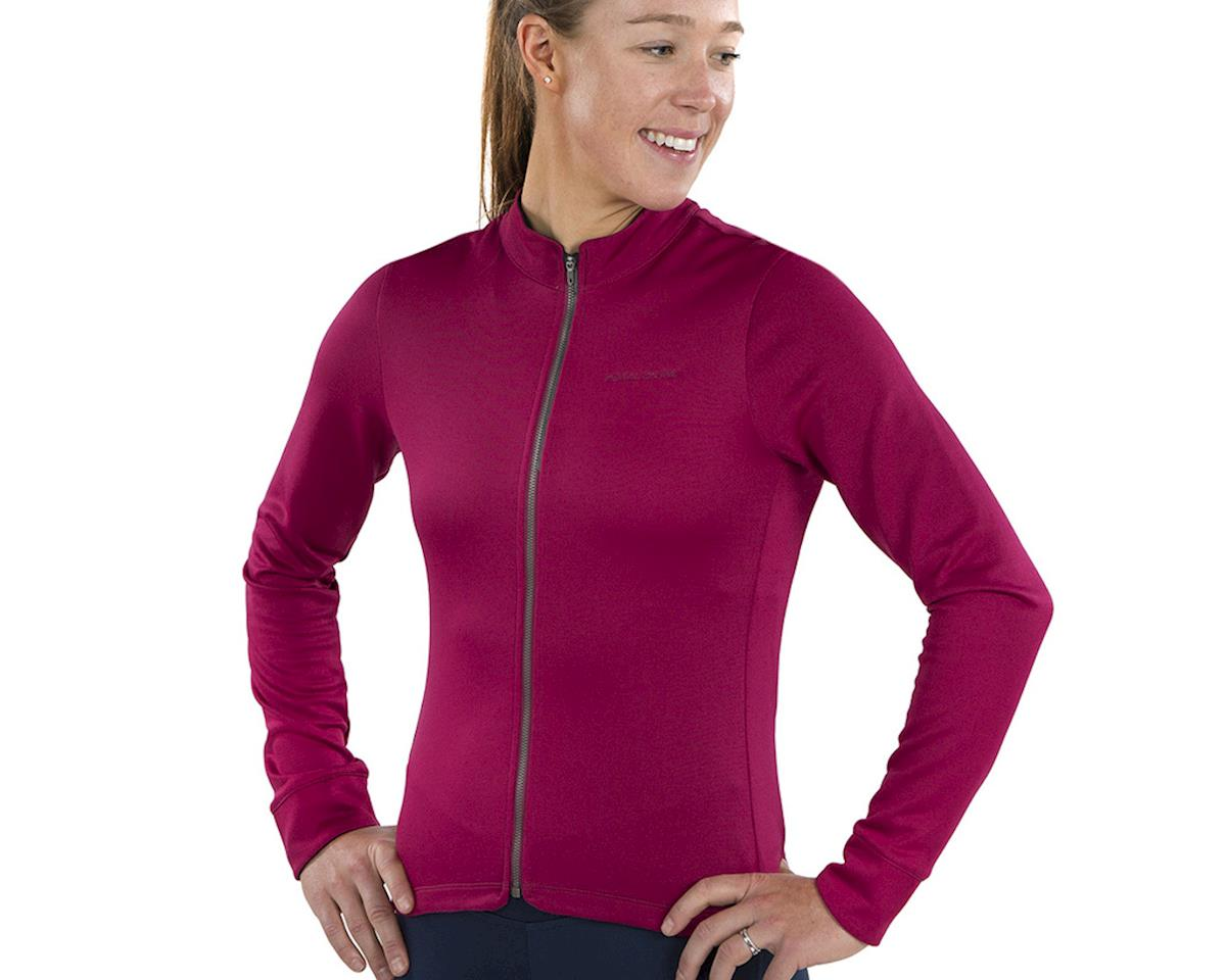 Image 3 for Pearl Izumi Women's PRO Merino Thermal Jersey (Beet Red) (S)