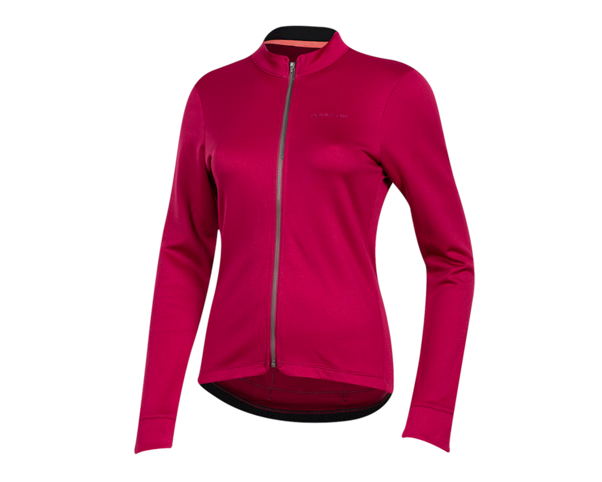 Pearl Izumi Women's PRO Merino Thermal Jersey (Beet Red) (XL)