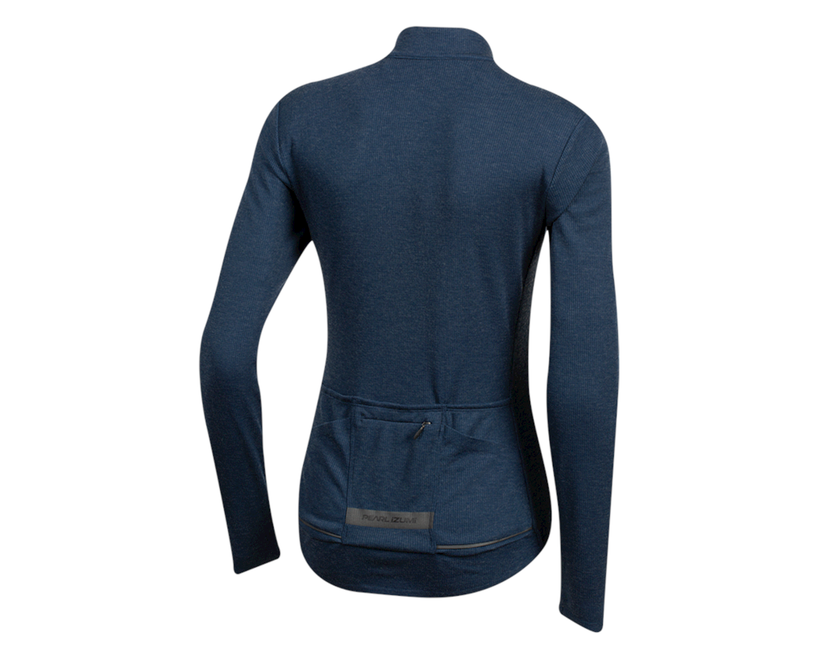 Image 2 for Pearl Izumi Women's PRO Merino Thermal Jersey (Navy) (S)