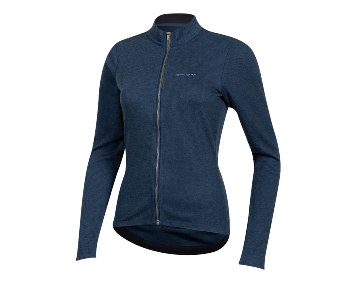 Image 1 for Pearl Izumi Women's PRO Merino Thermal Jersey (Navy) (XL)