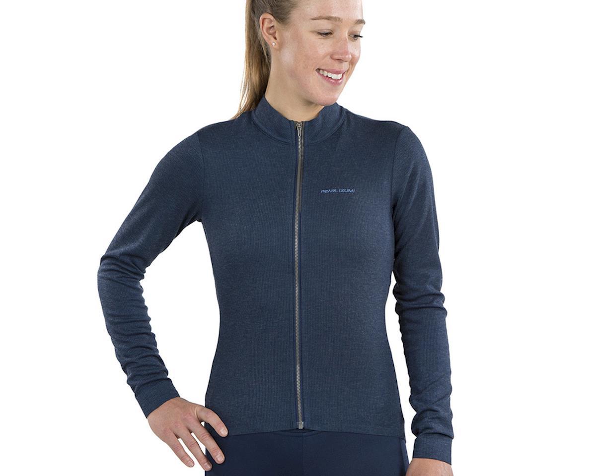 Image 3 for Pearl Izumi Women's PRO Merino Thermal Jersey (Navy) (XL)
