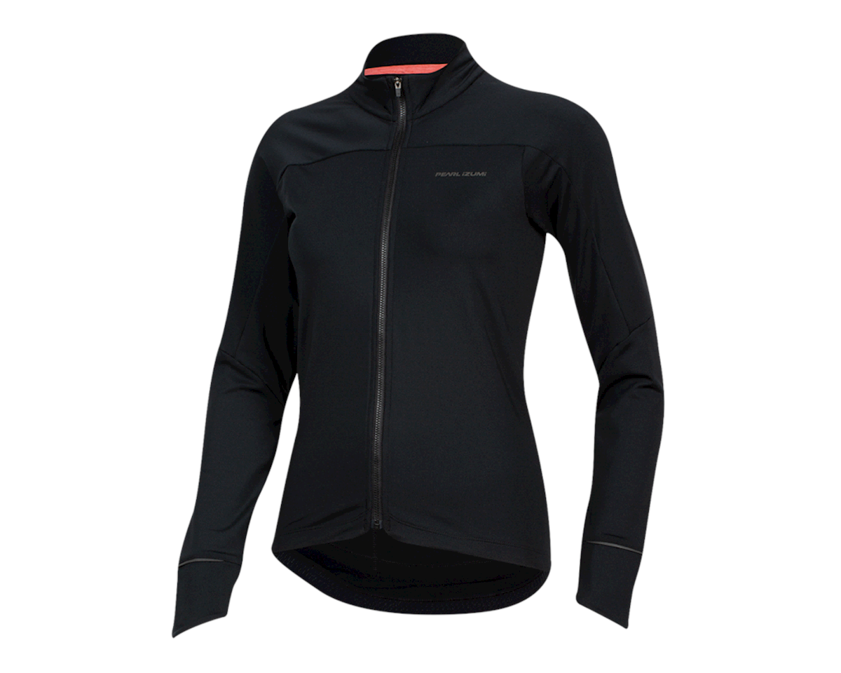 Image 1 for Pearl Izumi Women's Attack Thermal Jersey (Black) (XS)