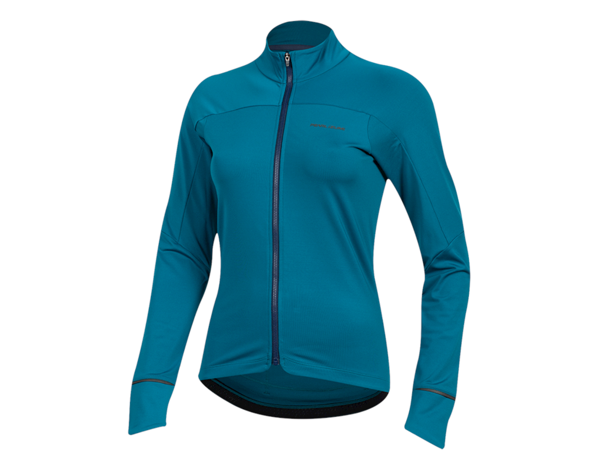 Image 1 for Pearl Izumi Women's Attack Thermal Jersey (Teal) (S)