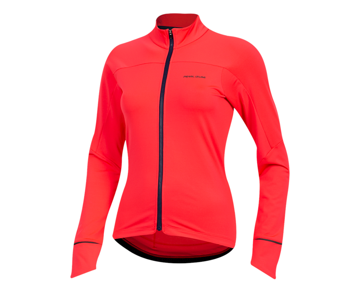 Pearl Izumi Women's Attack Thermal Jersey (Atomic Red) (XL)