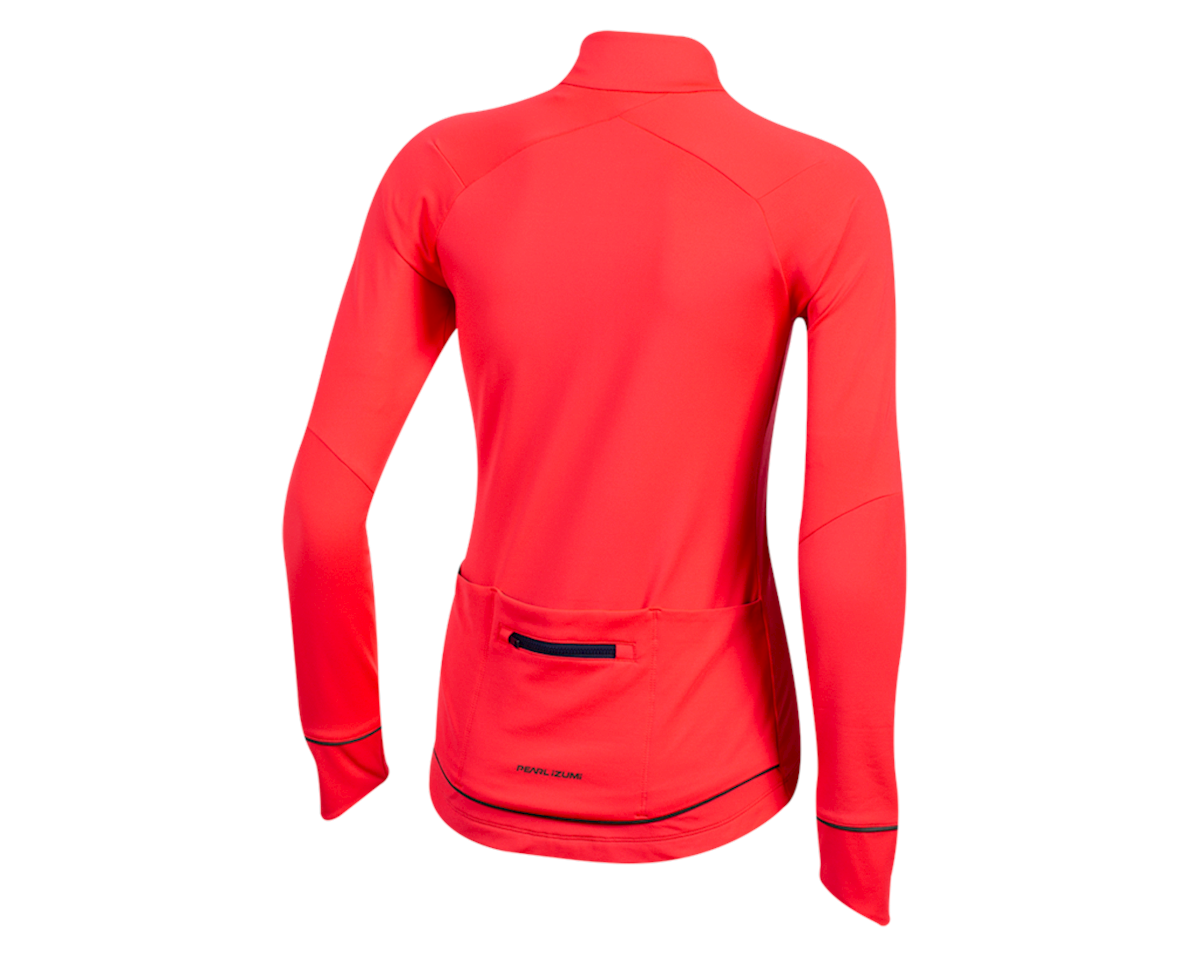Image 2 for Pearl Izumi Women's Attack Thermal Jersey (Atomic Red) (2XL)