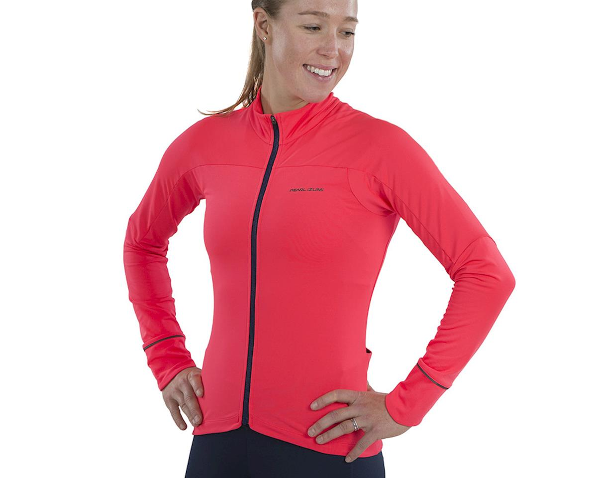 Image 3 for Pearl Izumi Women's Attack Thermal Jersey (Atomic Red) (2XL)
