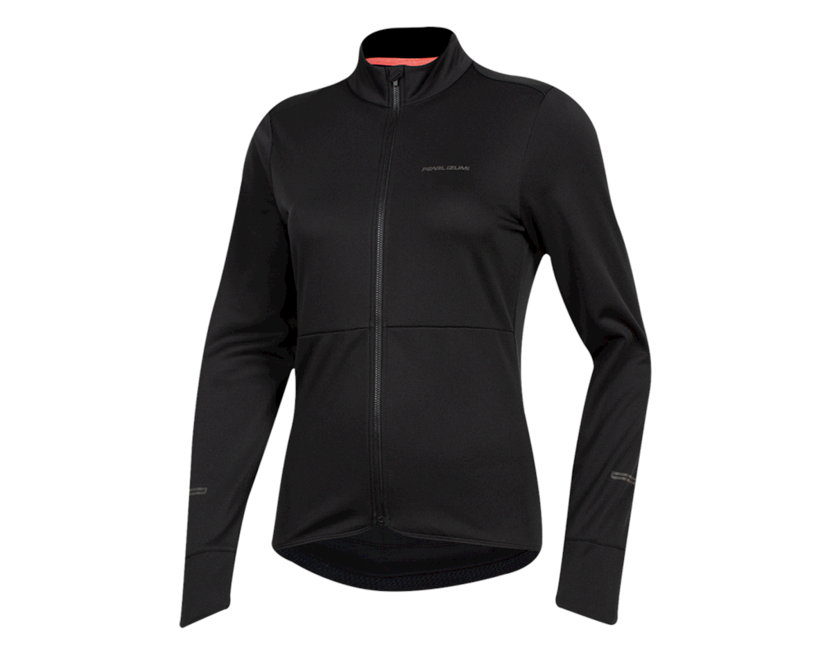 Pearl Izumi Women's Quest Thermal Jersey (Black) (L)