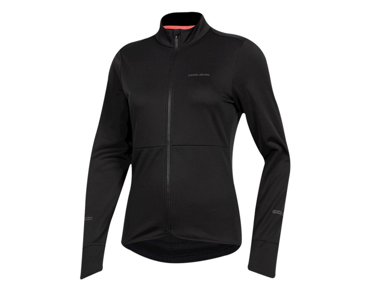 Pearl Izumi Women's Quest Thermal Jersey (Black) (XS)