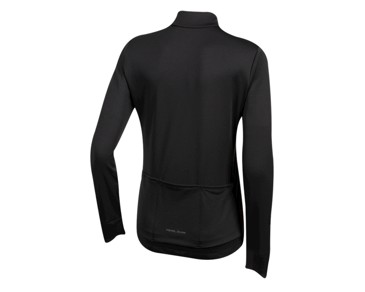 Image 2 for Pearl Izumi Women's Quest Thermal Jersey (Black) (2XL)