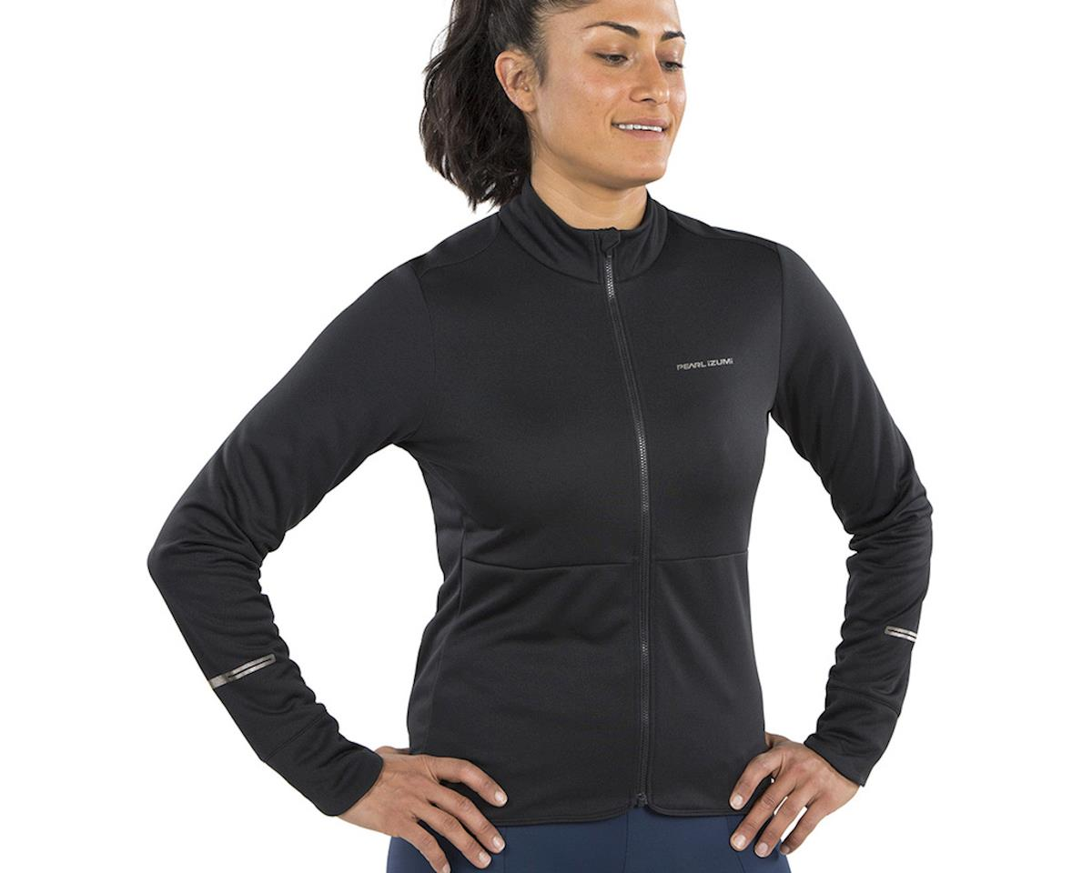 Image 3 for Pearl Izumi Women's Quest Thermal Jersey (Black) (2XL)