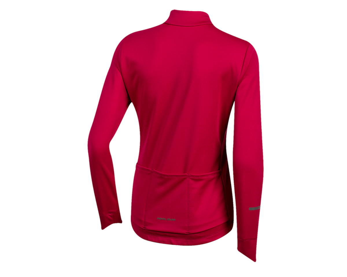 Pearl Izumi Women's Quest Thermal Jersey (Beet Red) (L)