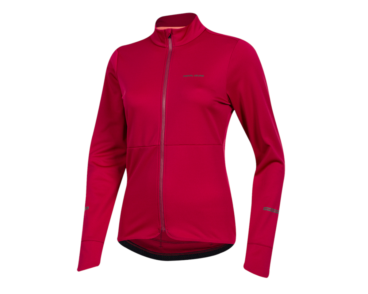 Pearl Izumi Women's Quest Thermal Jersey (Beet Red) (XL)