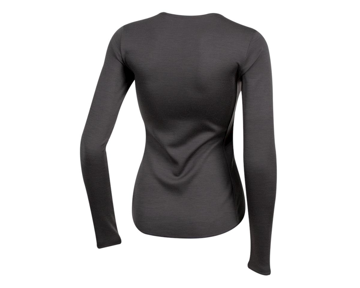 Pearl Izumi Women's Merino Thermal Long Sleeve Base Layer (Phantom) (L)
