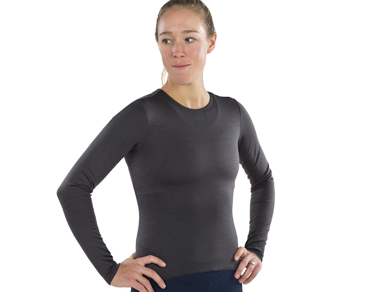 Pearl Izumi Women's Merino Thermal Long Sleeve Base Layer (Phantom) (XL)