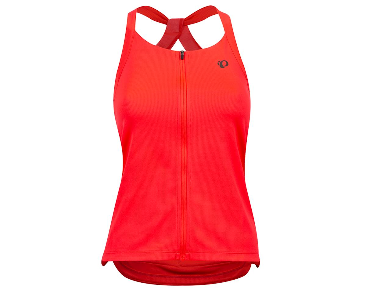 Pearl Izumi Women's Sugar Sleeveless Jersey (Atomic Red) (L)