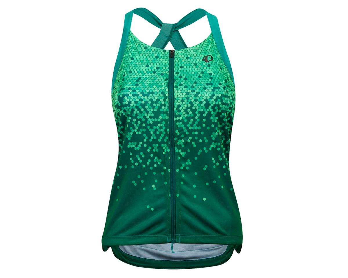 Pearl Izumi Women's Sugar Sleeveless Jersey (Malachite/Alpine Green Hex) (L)