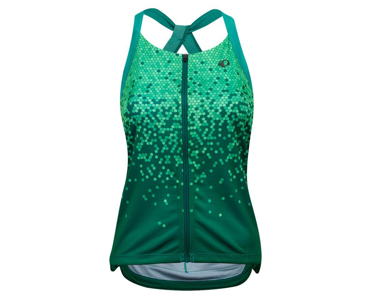 Pearl Izumi Women's Sugar Sleeveless Jersey (Malachite/Alpine Green Hex) (XL)