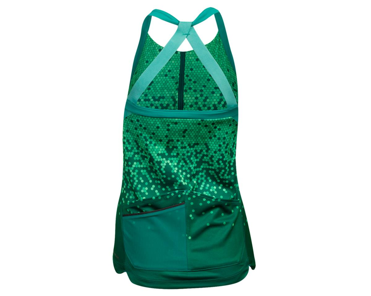 Image 2 for Pearl Izumi Women's Sugar Sleeveless Jersey (Malachite/Alpine Green Hex) (XL)