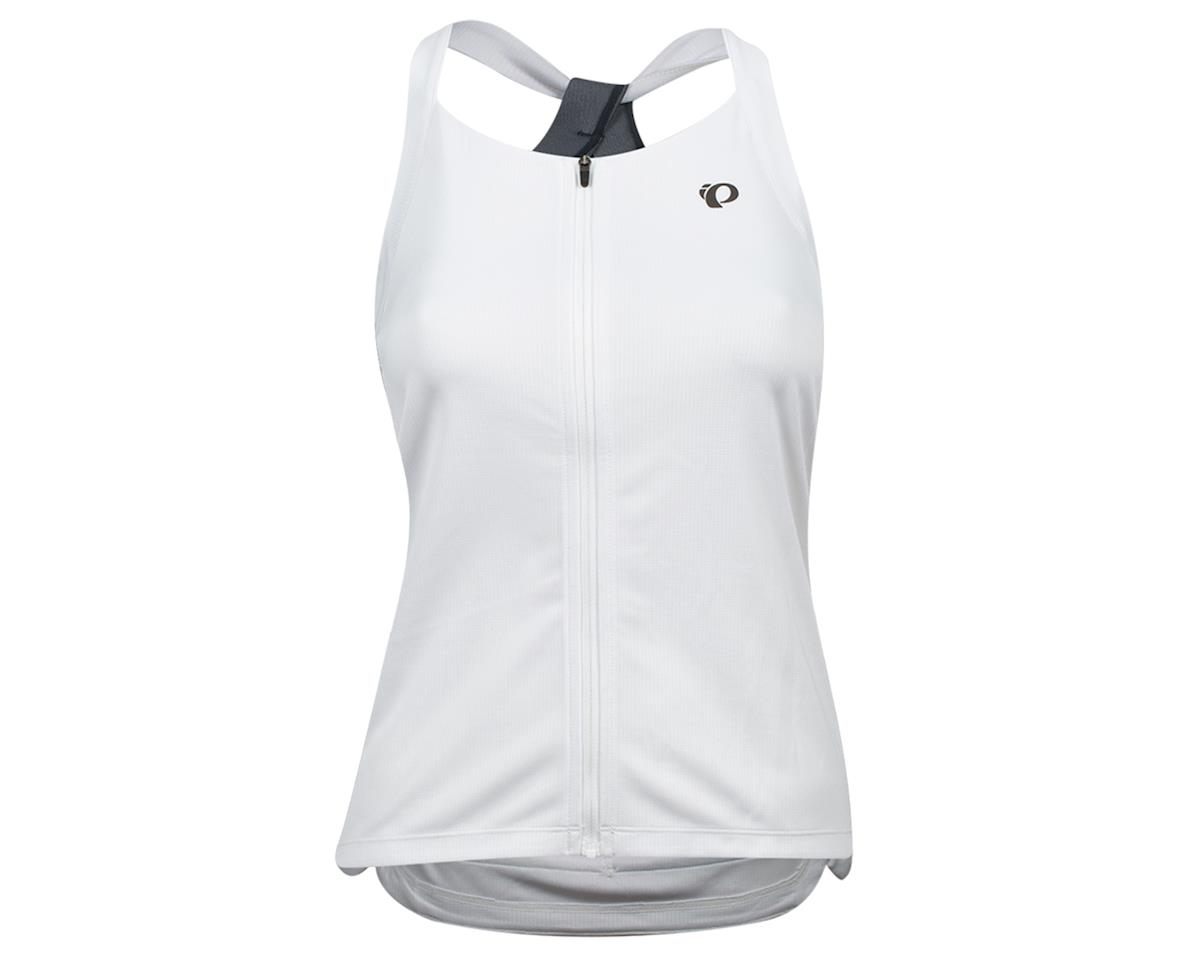 Pearl Izumi Women's Sugar Sleeveless Jersey (White/Turbulence) (L)