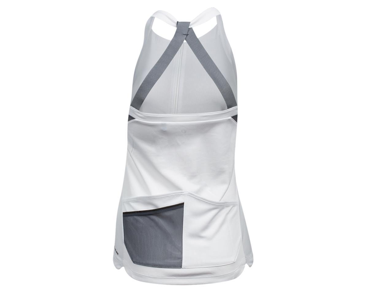 Image 2 for Pearl Izumi Women's Sugar Sleeveless Jersey (White/Turbulence) (XL)