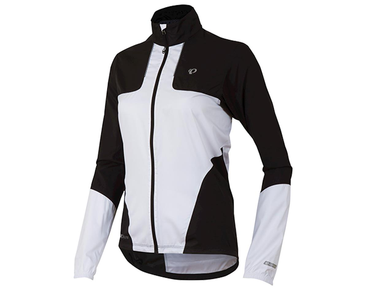 Pearl Izumi Elite Barrier Women's Bike Jacket (Black/White) (L)