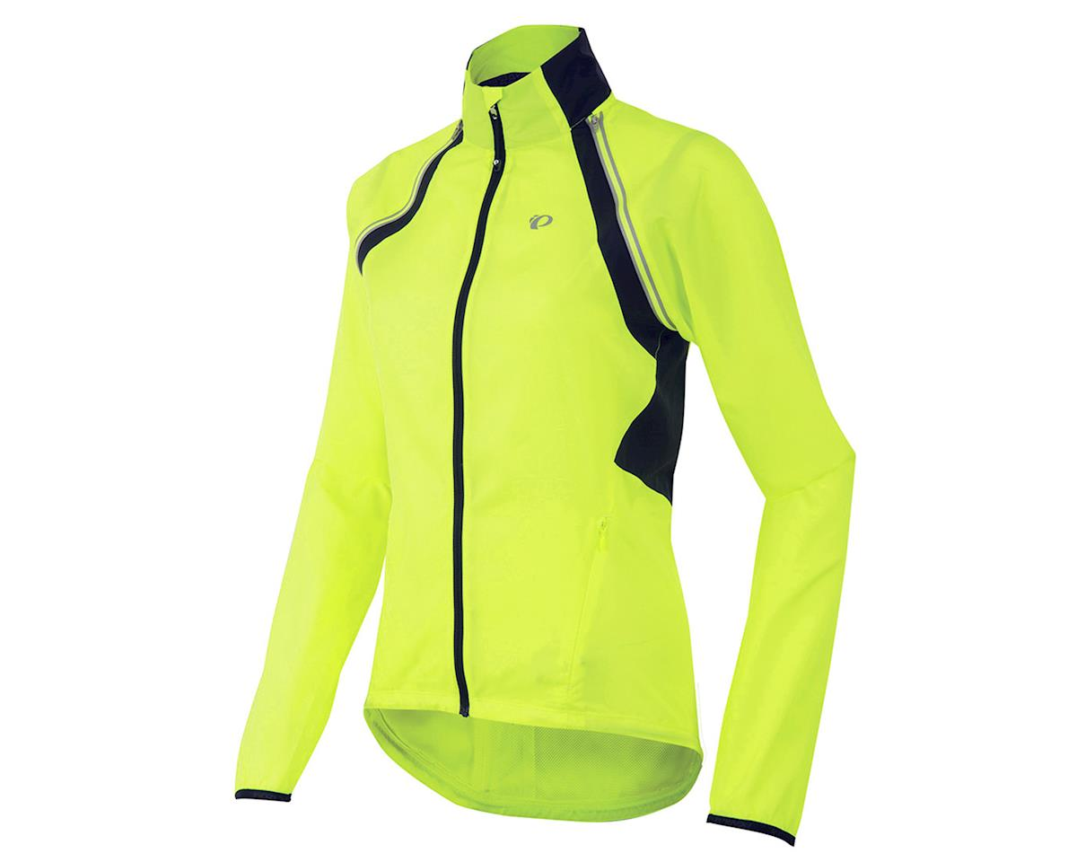 Pearl Izumi Women's Elite Barrier Convertible Cycling Jacket (Screaming Yellow)