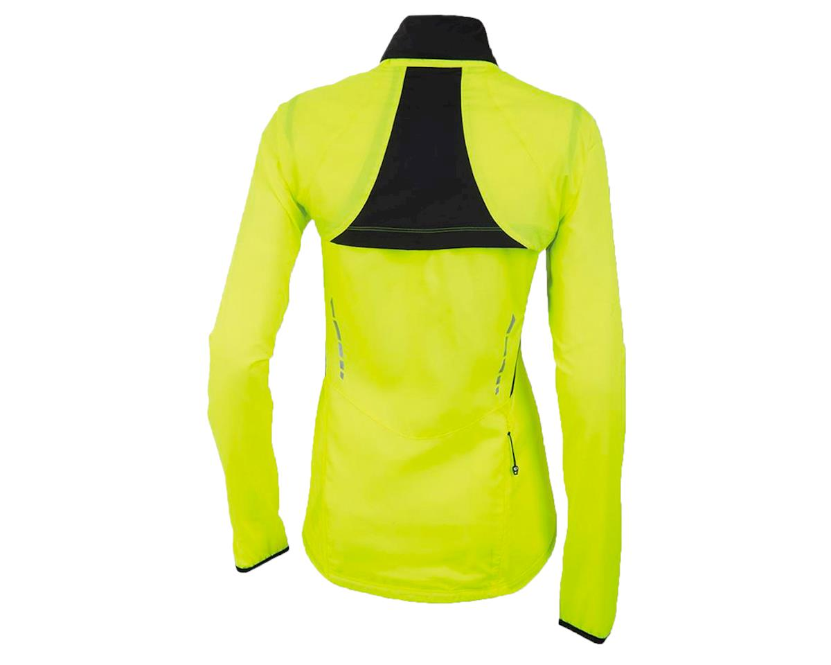Pearl Izumi Women's Elite Barrier Convertible Cycling Jacket (Screaming Yellow)
